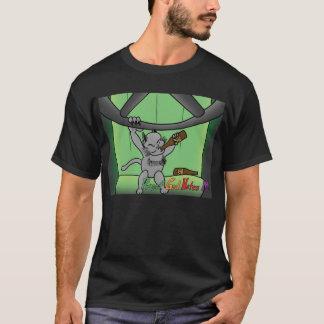 Camiseta del gatito de dios de DWI