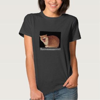 Camiseta del gatito del rugido