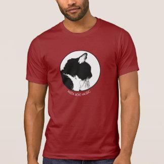 Camiseta del gato de la música del abucheo de