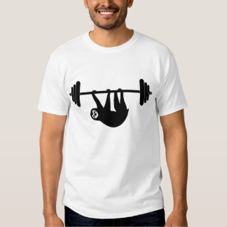 Camiseta del gimnasio de la pereza