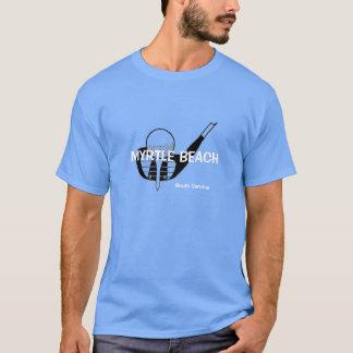 Camiseta del golf de Myrtle Beach Carolina del Sur