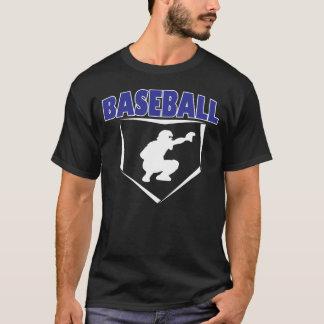 Camiseta del gráfico de los colectores del béisbol