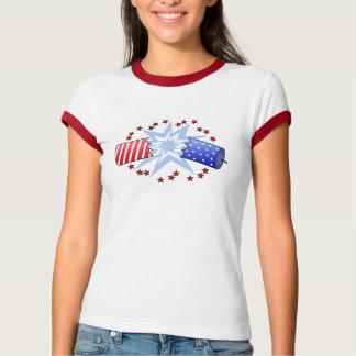 Camiseta Camiseta del gráfico del petardo