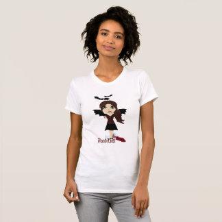 Camiseta del gráfico del vampiro del BloodLust de