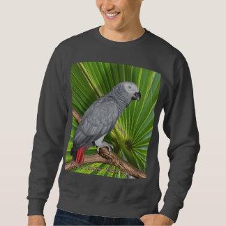 Camiseta del gris africano