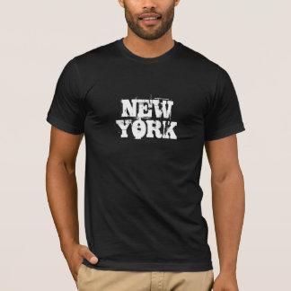 Camiseta del Grunge de Nueva York