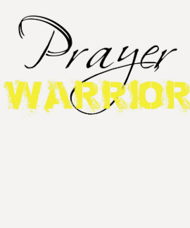 Camiseta del guerrero del rezo