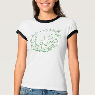 Camiseta del guisante de olor