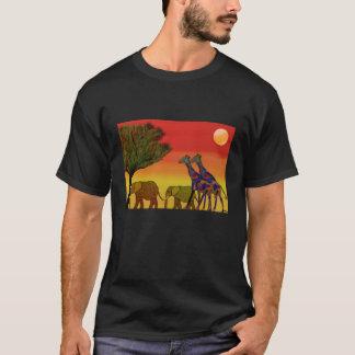 Camiseta del hábitat de la fauna