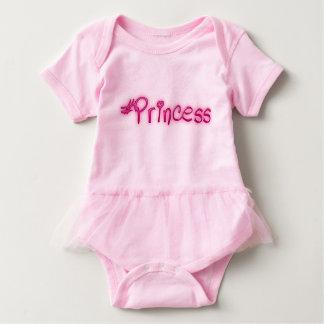 camiseta del hashtag de los #princess