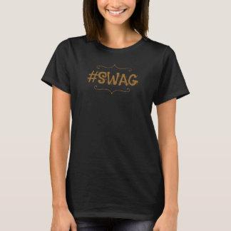 Camiseta del hashtag del SWAG