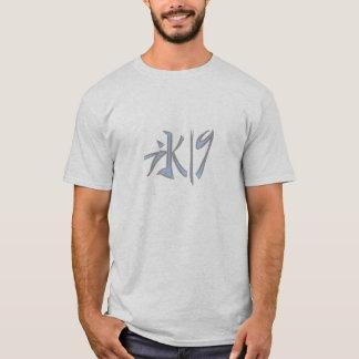 camiseta del hielo-nueve
