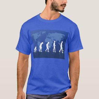 Camiseta del hockey de la evolución