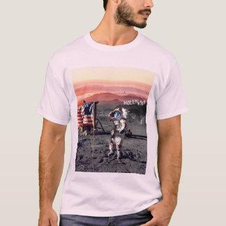 Camiseta del hombre de la luna de Hollywood - rosa