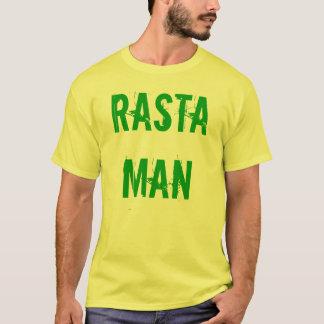 Camiseta del hombre de Rasta