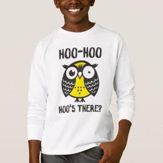 camiseta del hoo del hoo para los niños
