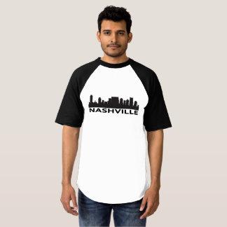 Camiseta del horizonte de Nashville Tennessee