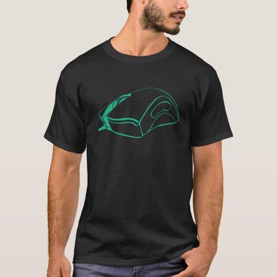 Camiseta del icono del ratón del juego