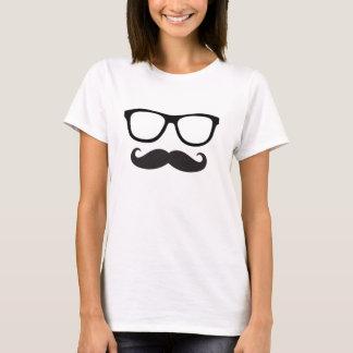Camiseta del inconformista del bigote de las