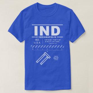 Camiseta del IND del aeropuerto internacional de
