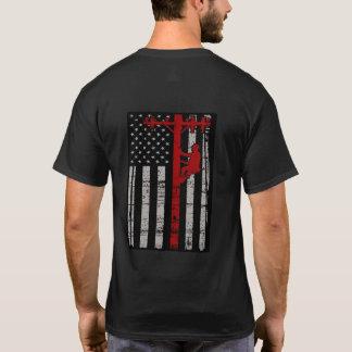 Camiseta del instalador de líneas de B&W