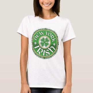 Camiseta del irlandés de Nueva York