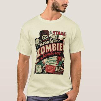 "Camiseta del ""Jamboree de medianoche del zombi"""