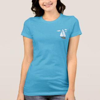 Camiseta del jersey de la aguamarina de Bella de