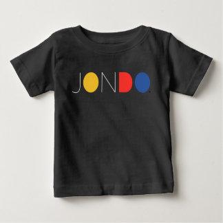 Camiseta del jersey de la multa del bebé de JONDO