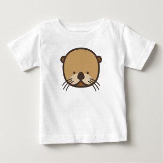 Camiseta del jersey de la multa del bebé de la