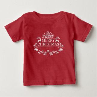 Camiseta del jersey de la multa del bebé de las