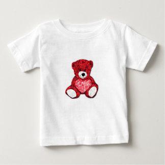 Camiseta del jersey de la multa del bebé del oso