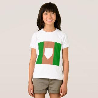 camiseta del jersey de los chicas del homeplate