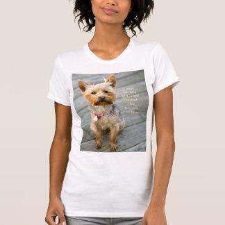 """camiseta del jersey de Yorkshire Terrier """"Nina"""""""