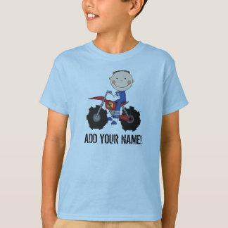 Camiseta del jinete de la bici de la suciedad del
