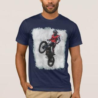 Camiseta del jinete de los ensayos