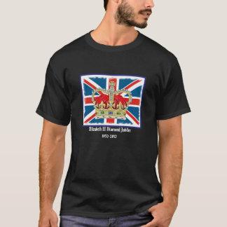Camiseta del jubileo de diamante de la corona del