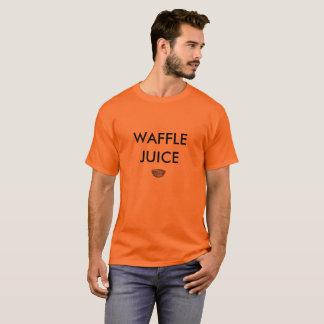 Camiseta del jugo de la galleta