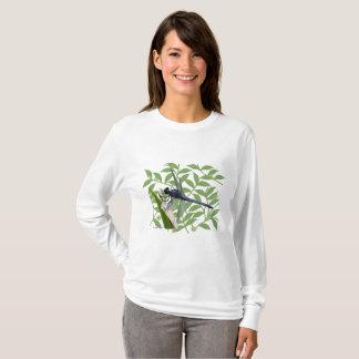 Camiseta del L/S de las mujeres de la libélula