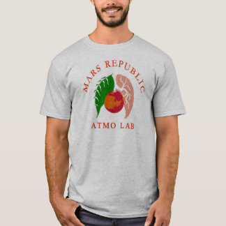 Camiseta del laboratorio de Atmo de la república