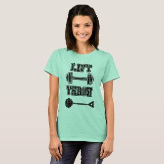 Camiseta del lanzador de martillo del atletismo