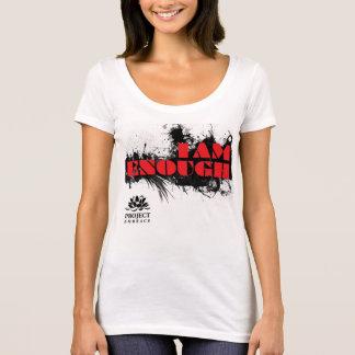 Camiseta del lema del abrazo del proyecto