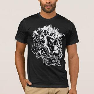 Camiseta del león de Streetwear