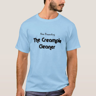 Camiseta del limpiador de Creampie del cornudo