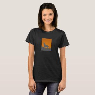 Camiseta del lobo del grito