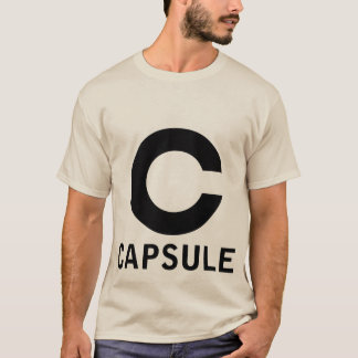 Camiseta del logotipo de la cápsula (gráfico