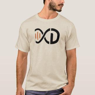 Camiseta del logotipo de la DNA - arena
