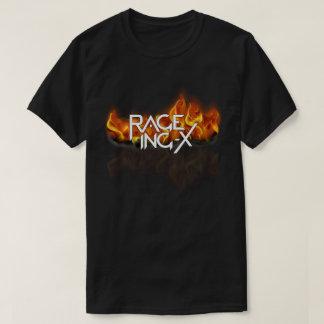 Camiseta del logotipo de la llama