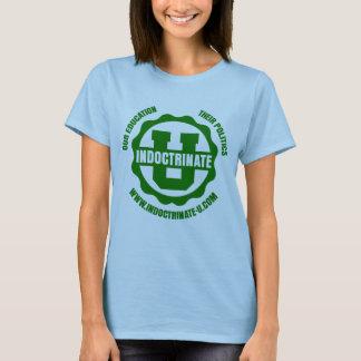 Camiseta del logotipo de la radiación de la muñeca
