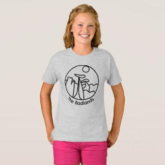 Camiseta del logotipo de los Badlands de los